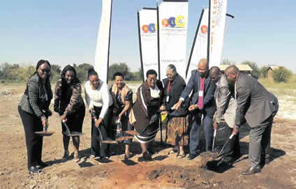 ECD Sod turning in Northern Cape