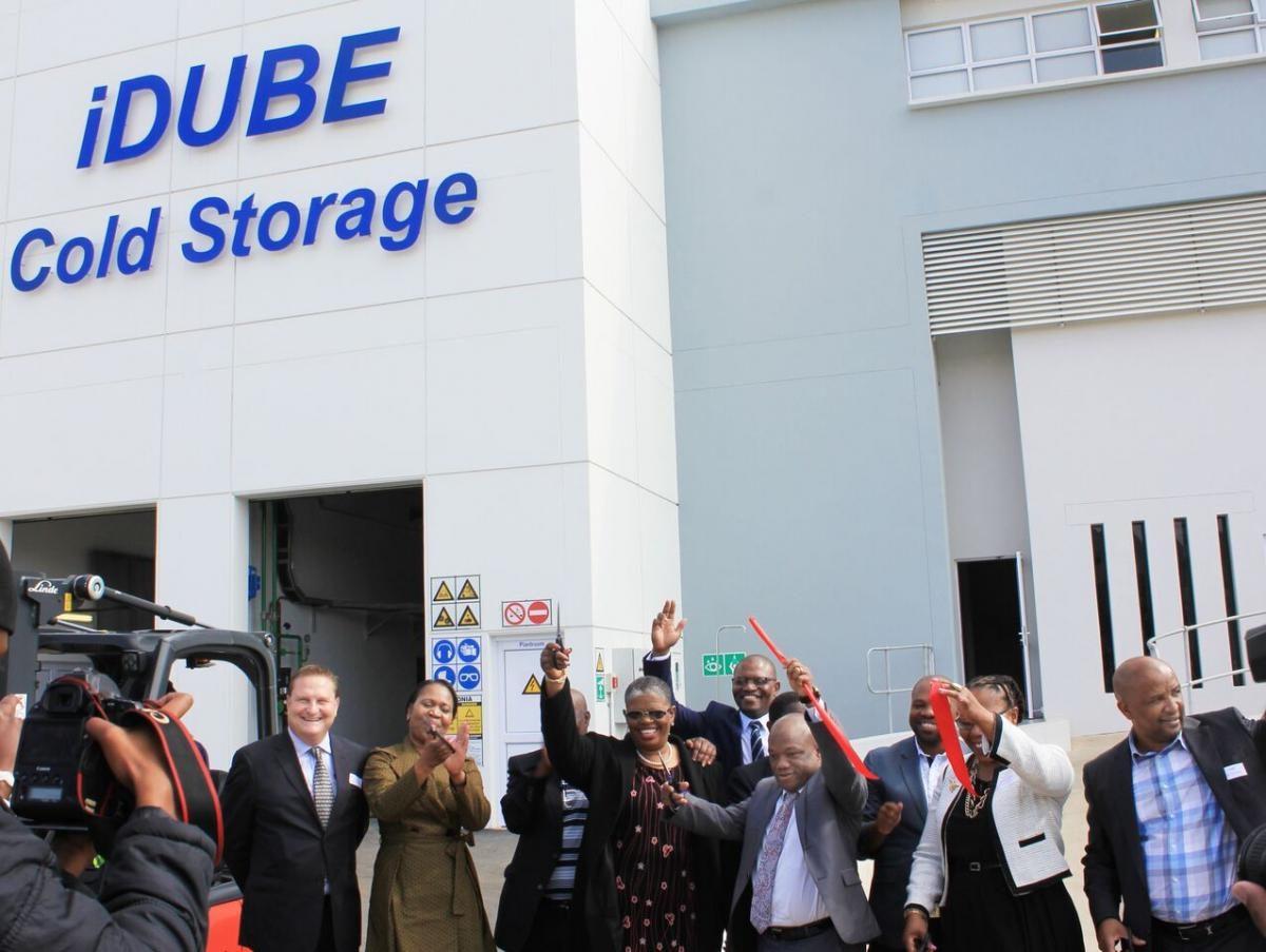 iDube Cold Storage handles and stores locally produced perishables.