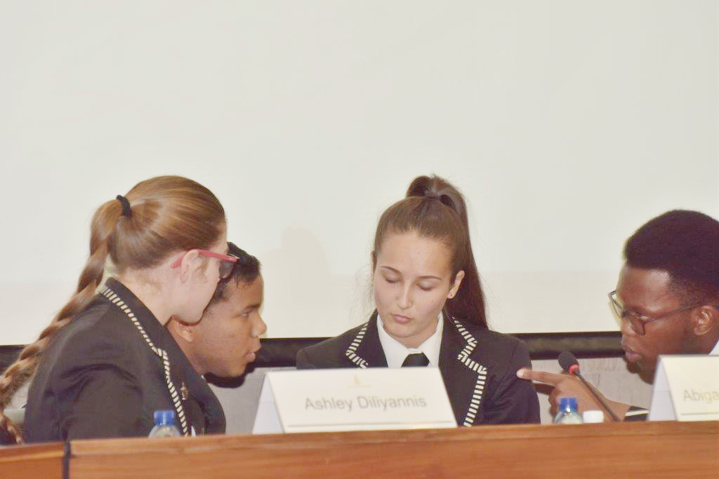 South Africa's future economists take part in the Monetary Policy Committee Schools Challenge.