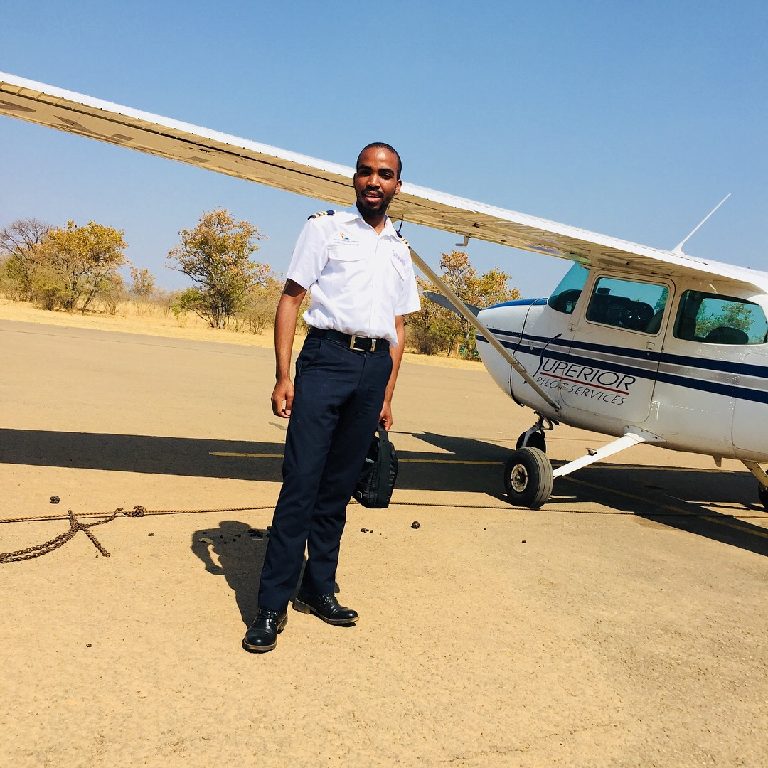 Nkululeko Sokweba, a young dreamer, flies across the skies with passion.