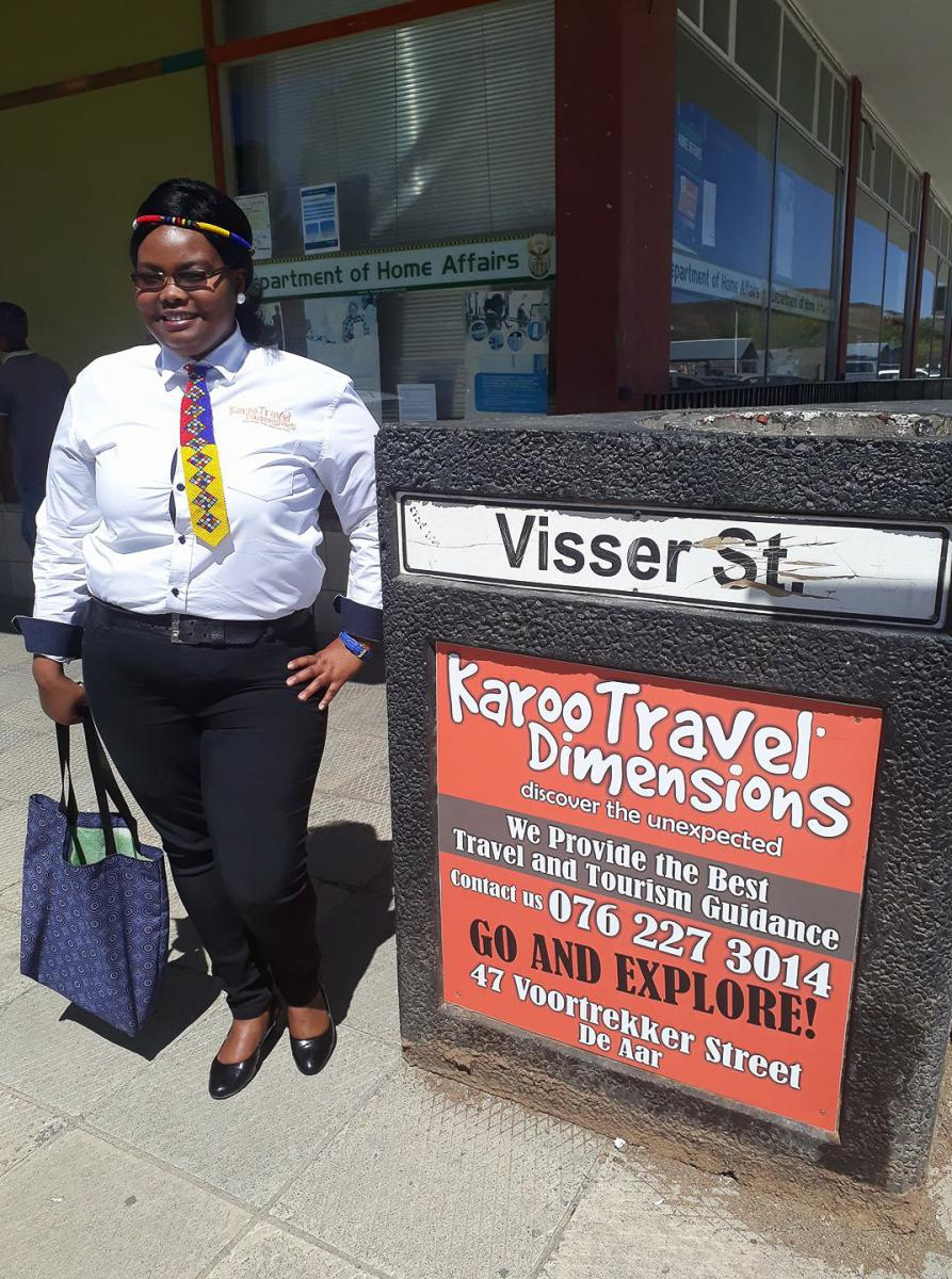 Noncedo Seekoie putting the Northern Cape on the map with her tourism business.