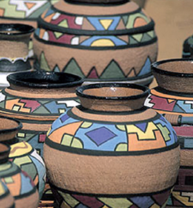 In South Africa, the craft sector alone contributes more than R1 billion to the country's gross domestic product and provides 38 000 jobs through an estimated 7 000 small enterprises