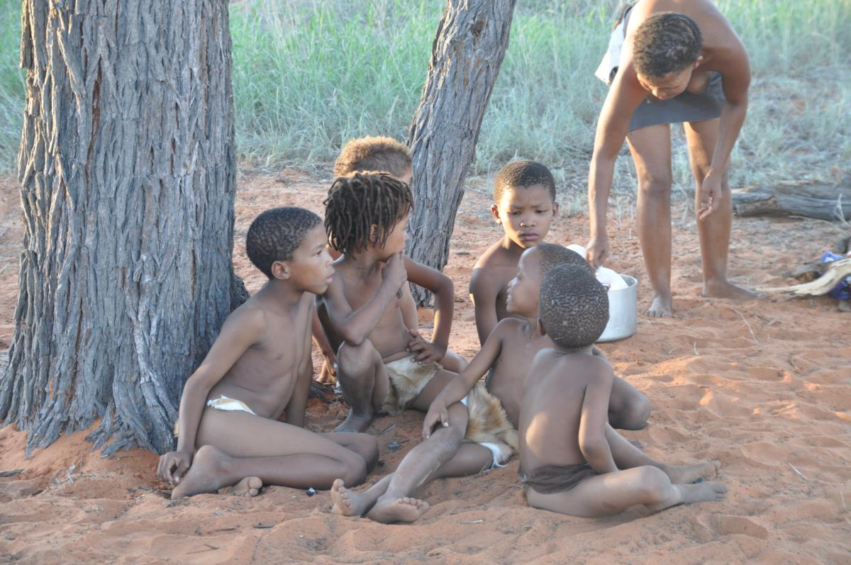 A traditional way of life in the Kgalagadi Transfrontier Park. (Photo: Kevin Moore of SANParks)