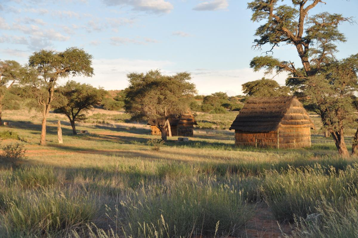 The ‡Khomani San Cultural Landscape holds archaeological evidence of human occupation from the Stone Age to the present. (Photo: Kevin Moore of SANParks)
