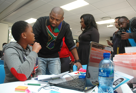 Participants in an African Teen Geeks hackathon. (Photo: African Teen Geeks)