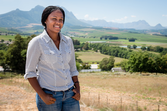 Vanessa Barends is making an impact in the farming sector.