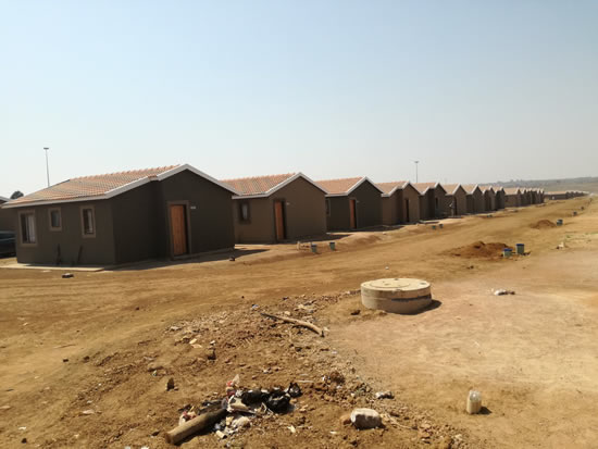 Life is changing for the better for new housing recipients in Germiston, Ekurhuleni.
