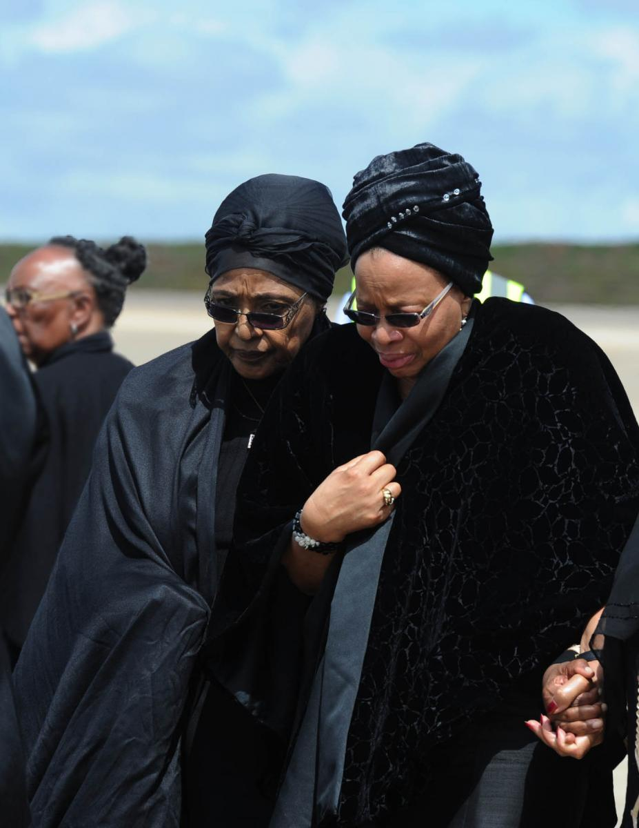 "Graca Machel, widow of former President Nelson Mandela wrote a moving letter to the late Winnie Madikizela- Mandela, referring to her as her ""big sister""."