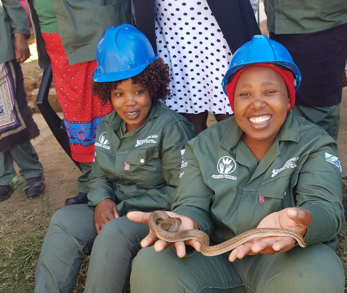 The Mayibuye Game Reserve has already created jobs and will ensure that the wildlife economy thrives.