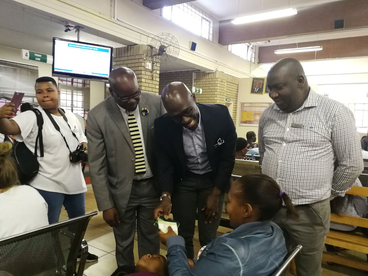 Home Affairs Minister Malusi Gigaba says his department will be implementing a plan to cut long queues.