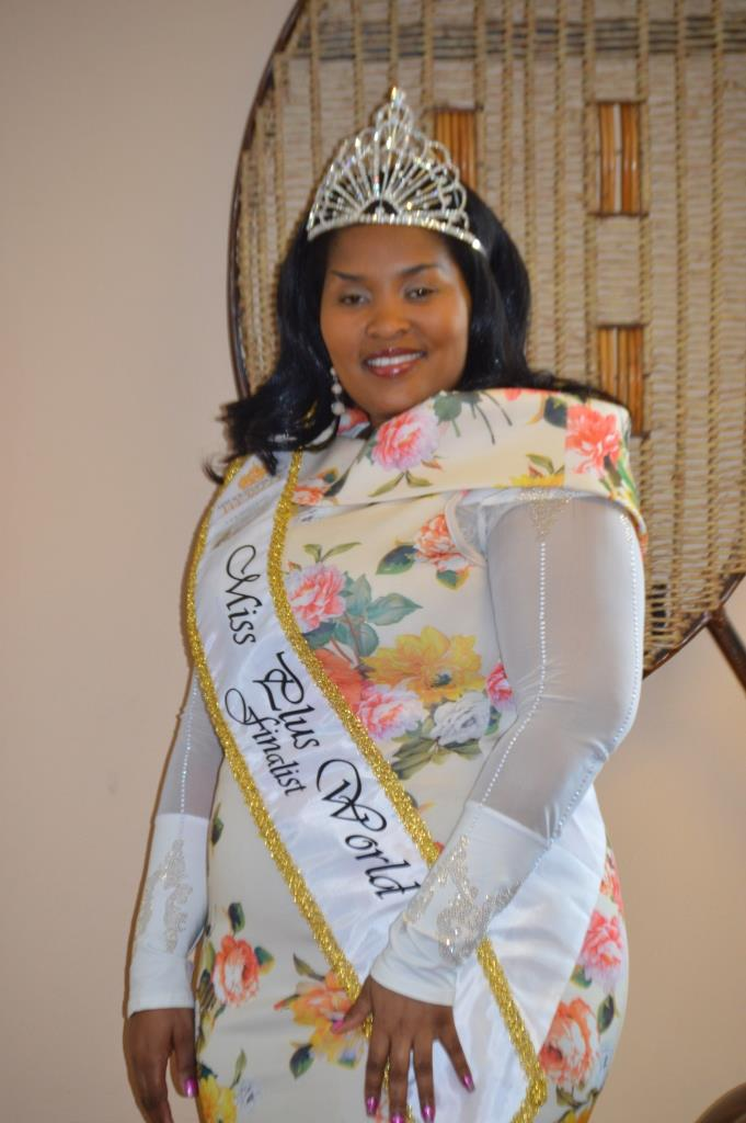 Dipolelo Hou is confident that she will make history by being the first to represent South Africa in the Miss Plus World Pageant.
