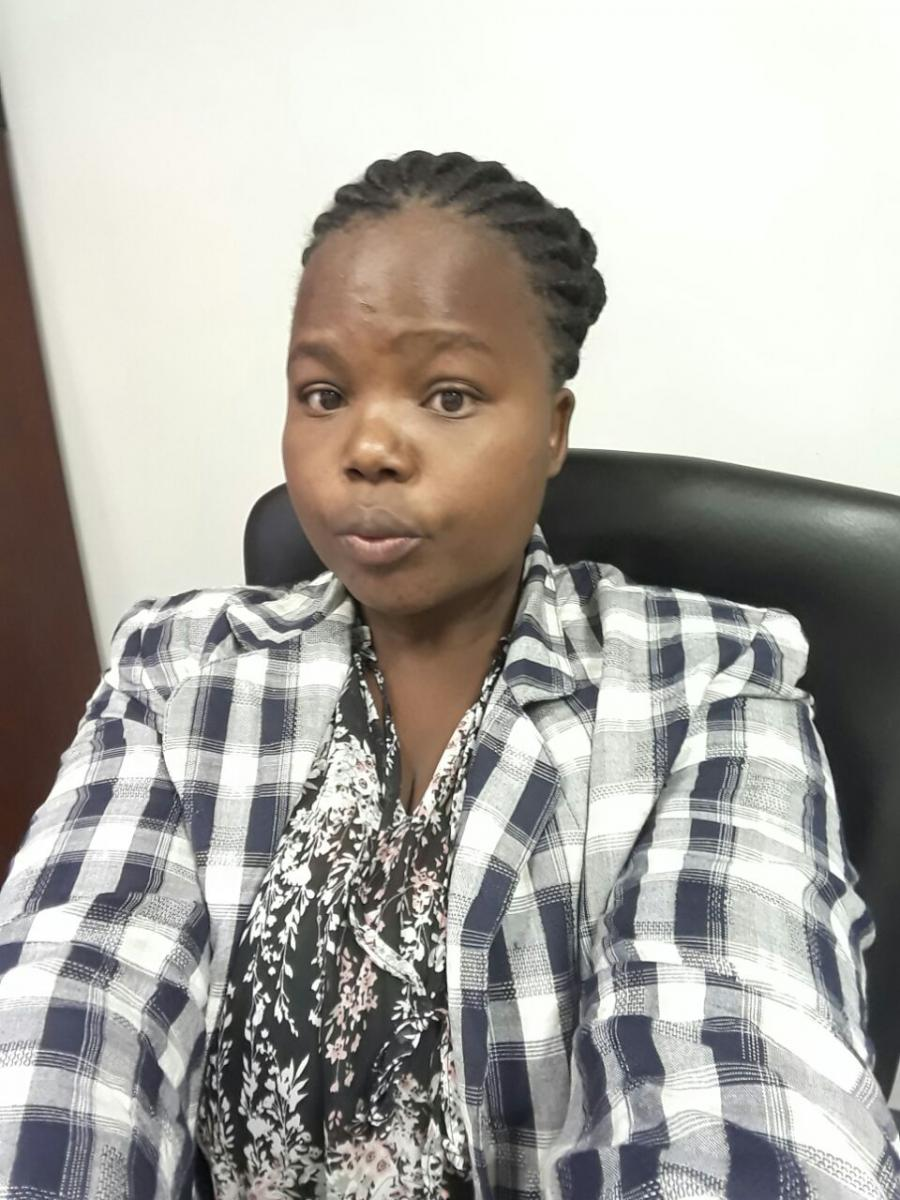 Nokubonga Mnguni is passionate about helping others through social work