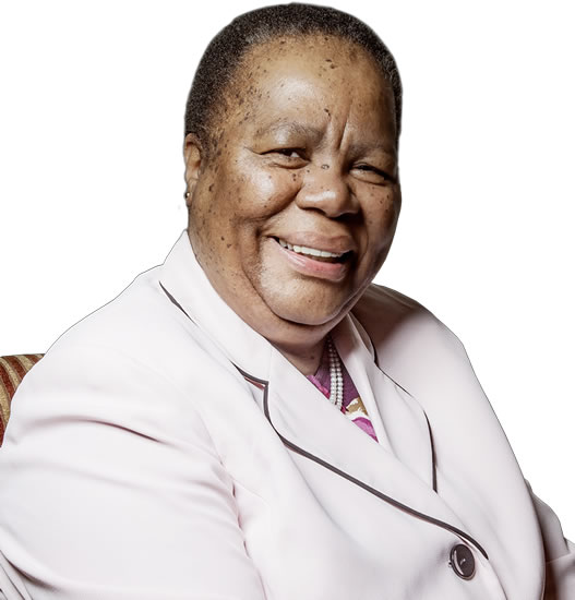 Minister of Higher Education and Training, Naledi Pandor.