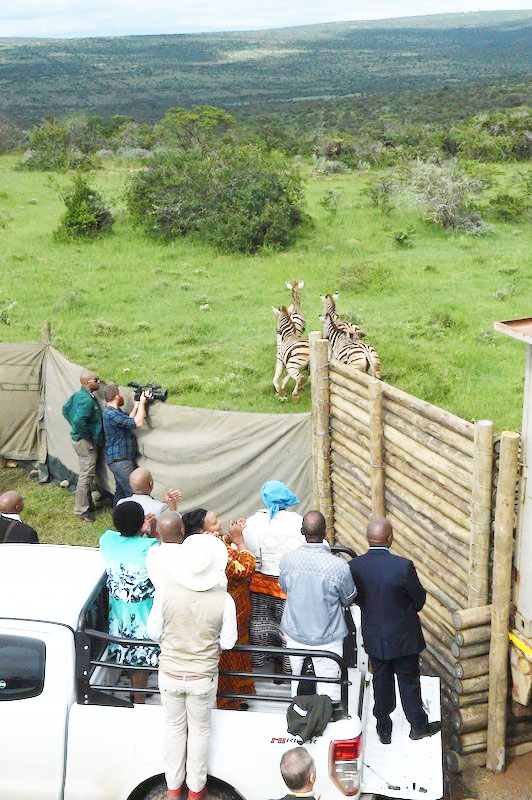 Double Drift community is excited about owning a wildlife management programme