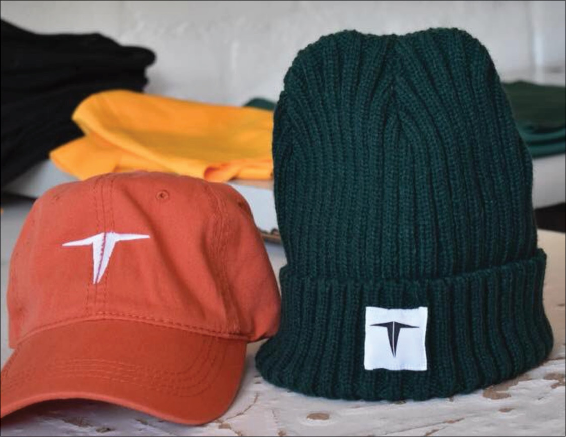 Some of the urban wear produced by Thabiso Mokomele's business T-squared