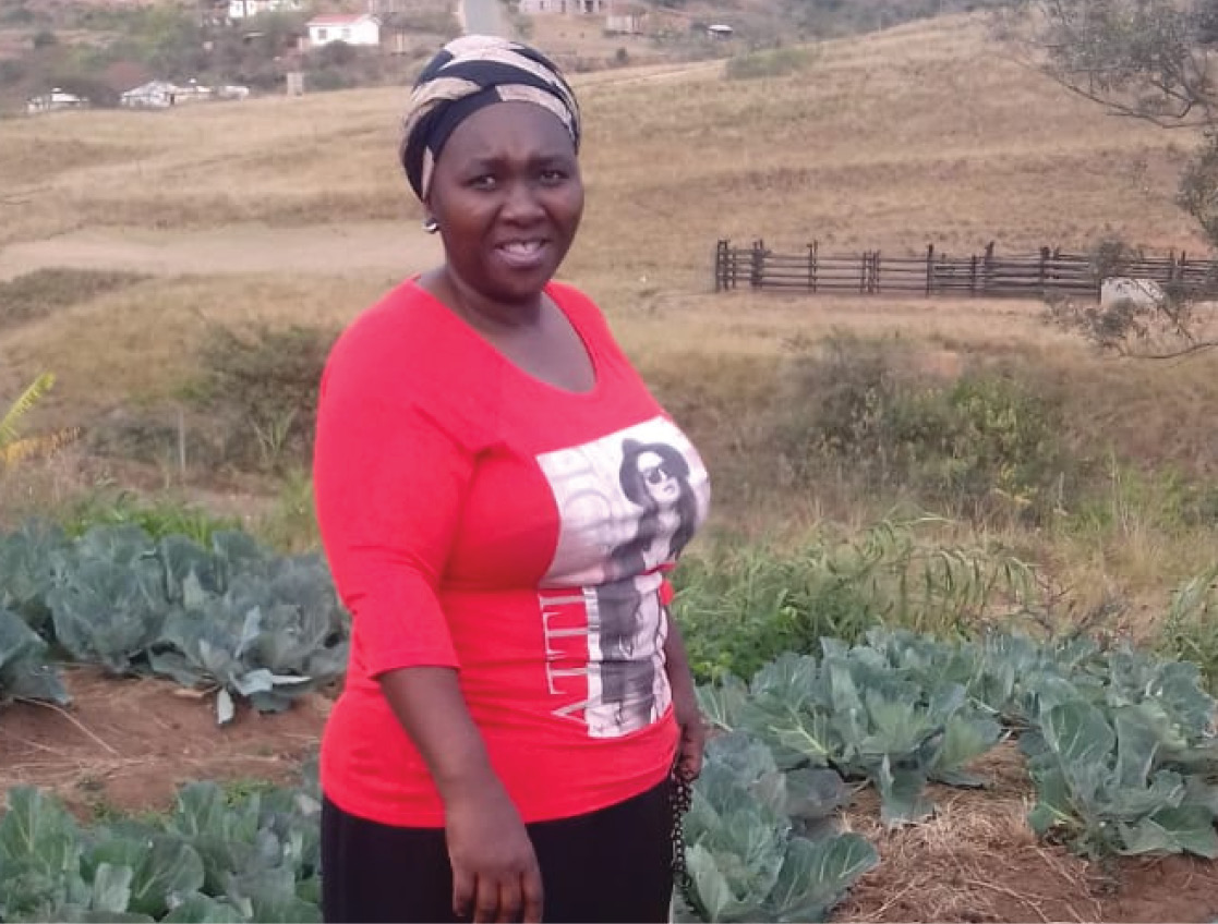 Lydia Hlophe is the heart of the community of KwaNyuswa in KwaZulu-Natal and she is doing her best to help others in her area.