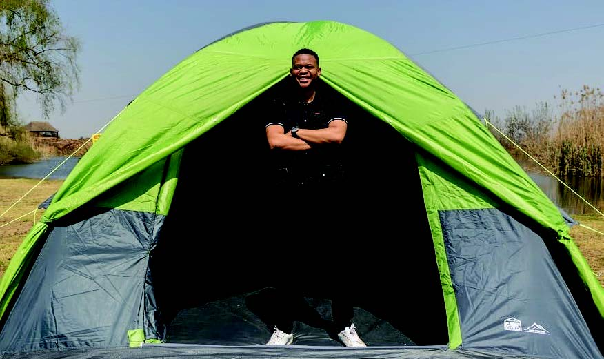 Tshireletso Mokate is all about giving South Africans a different experience through camping.