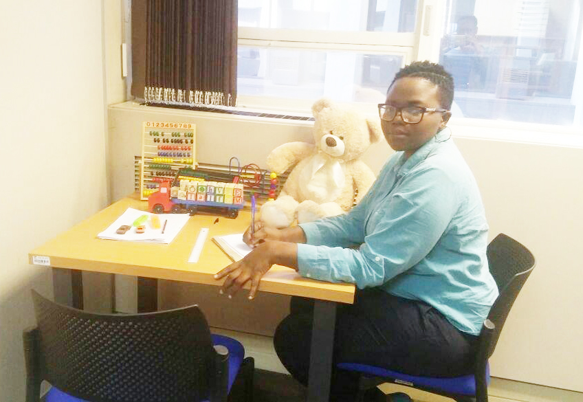 Londiwe Ngwenya is safeguarding the rights of children.