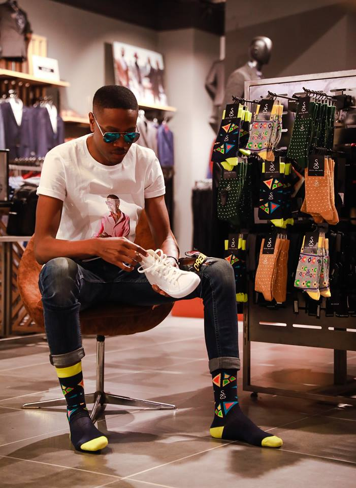 Sibusiso Ngwenya was able to target a niche market with his trendy socks brand.