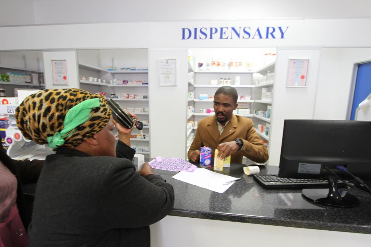 Pharmacist Vumile Mzinzi has changed the lives of residents in Mount Fletcher by opening the first pharmacy in the small Eastern Cape town.