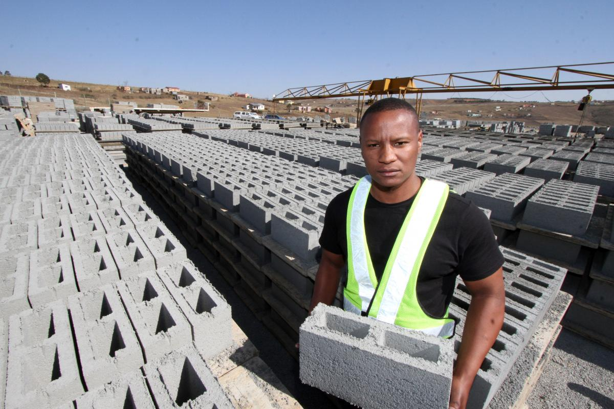 Anele Peti currently employs 32 people in his brick manufacturing company.