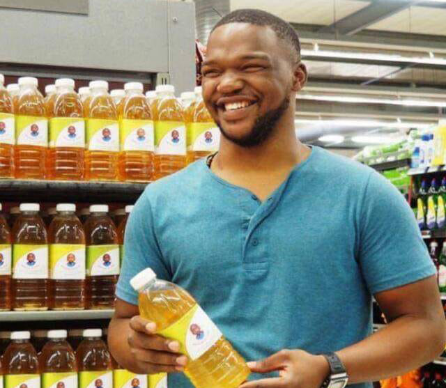 Owner of Mazoyi Mixture Lwazi Marawu sells his medicinal mixtures across the country.
