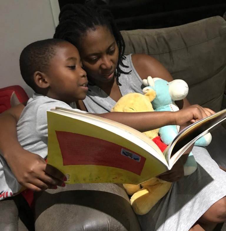 Children's book author Vuyolwethu Madanda says reading with her son Bono has brought them closer as a family.