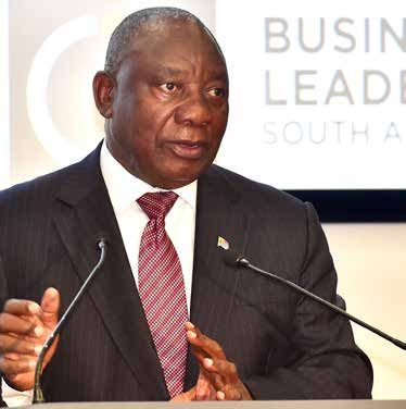 President Cyril Ramaphosa launched the BLSA Connect which is set to assist small businesses.
