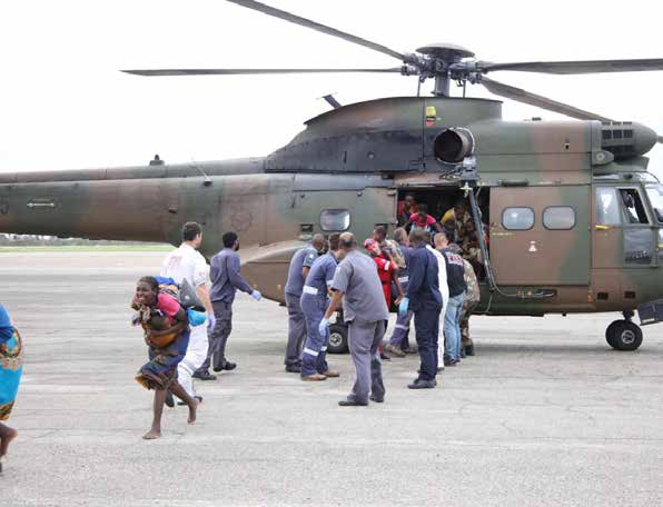 President Cyril Ramaphosa authorised the deployment of rescue teams for Malawi, Mozambique and Zimbabwe. The teams consist of members from SANDF, SAPS and the Department of Health.