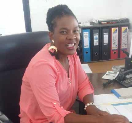 Former domestic worker Sakile Nyoni is now a stock controller, thanks to the computer training she received from Silulo Ulutho.