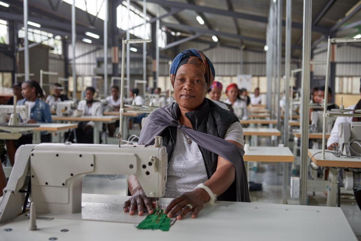 Lelly Mntungwa opened a clothing factory to empower women in uMsinga, KwaZulu-Natal.