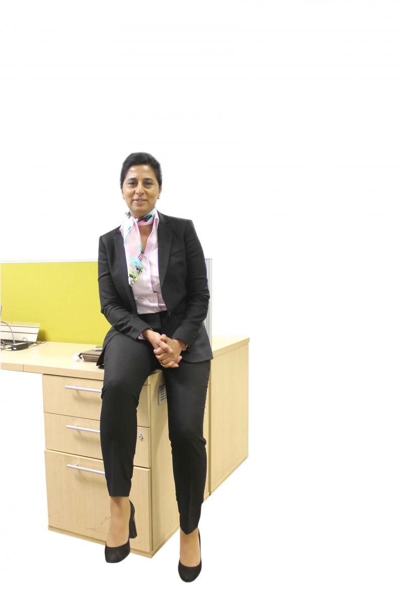 Nausheen Ameen is an educational psychologist with the Gauteng Department of Education.
