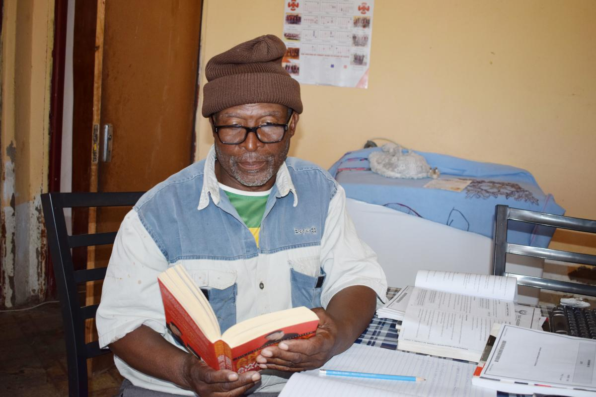 Matshediso Masapo is determined to get a matric certificate.
