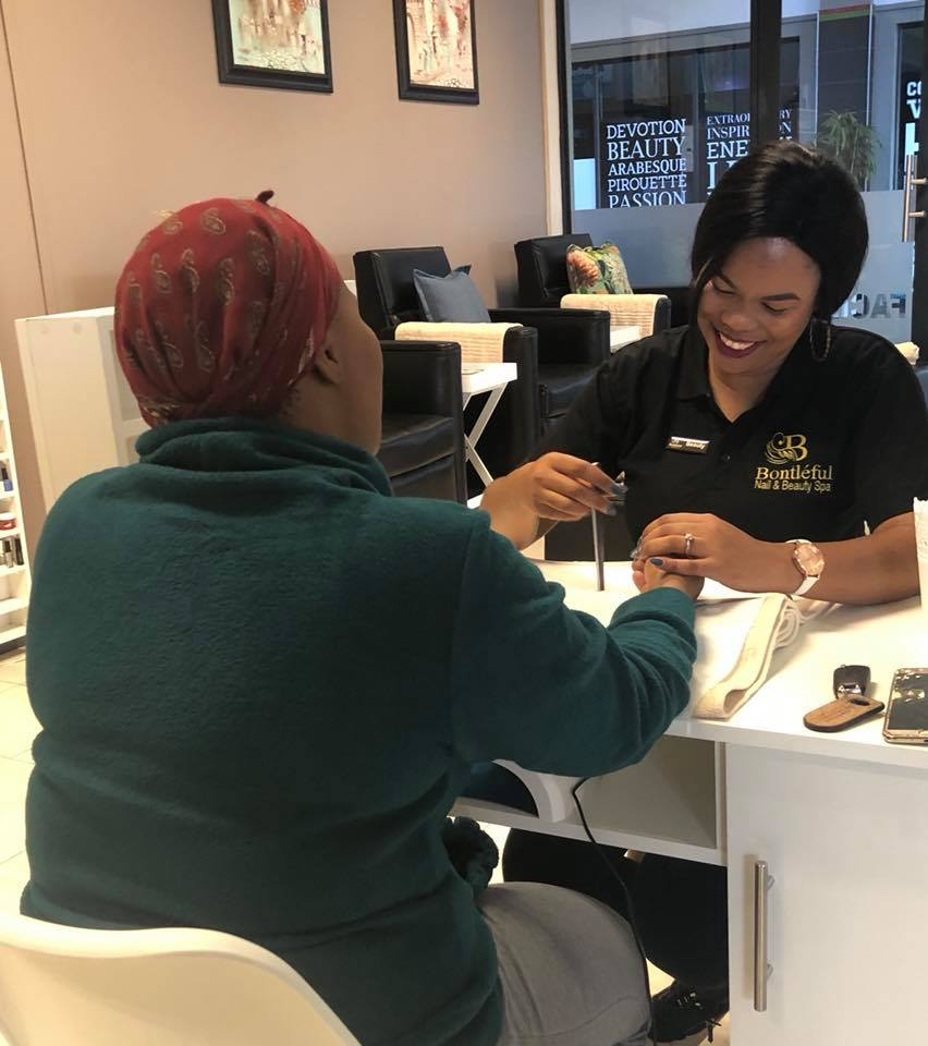 Beauty Sandt has built a solid business in beauty thanks to the assistance of the NYDA.