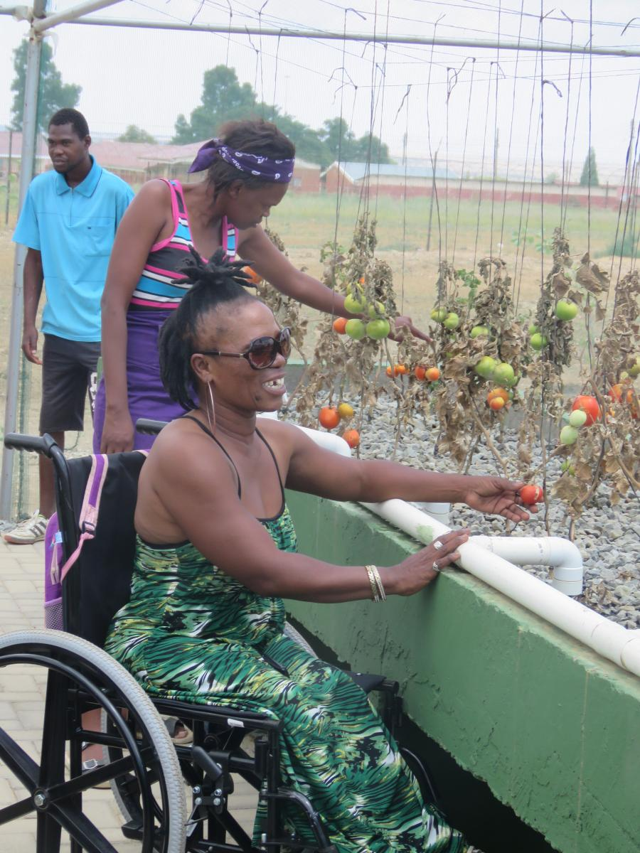 Inmed South Africa is making it easier for people living with a disability to enter the agricultural sector.