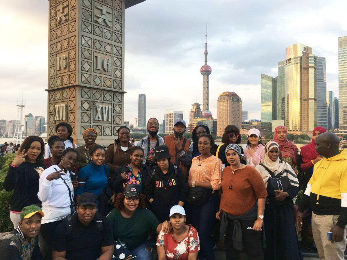Ten South Africans form a group of Africans who went on a 50 day jewellery making training course in China.