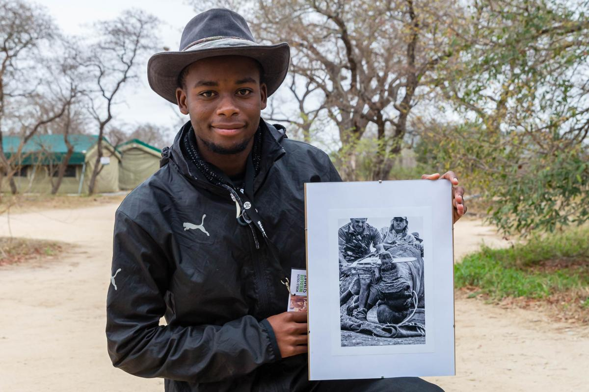 Neville Ngomane describes photography as a way of telling a story.