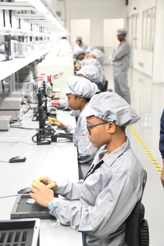 The Mara Phone manufacturing plant situated in Durban has created about 200 jobs with 94 percent of them being youth and 67 percent are women.