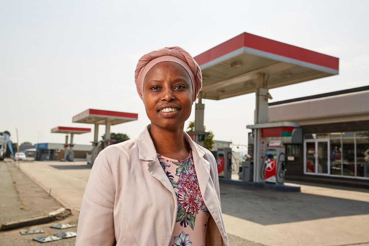 Khumbu Shelembe has made major inroads in the petrol retail industry and is now a budding entrepreneur