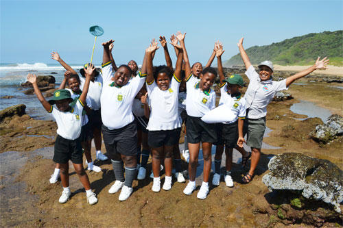 The WESSA education centre plays a key role in ensuring that children are exposed to educational            nature activities