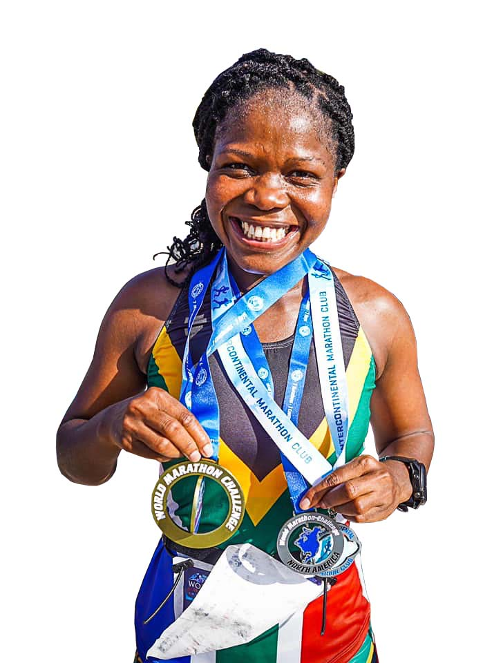 Nontuthuko Mgabhi completed the ultimate challenge running seven marathons in seven days, on all seven continents, to raise money for charity.