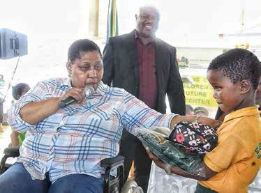 Deputy Minister of the Department of Social Development Hendrietta Bogopane-Zulu says community care centres in rural communities enhance the quality of services to orphans and vulnerable children.