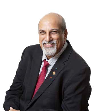 South African epidemiologist and infectious disease specialist Professor Salim Abdool Karim who is also the chairman of the Ministerial Advisory Group on COVID-19.