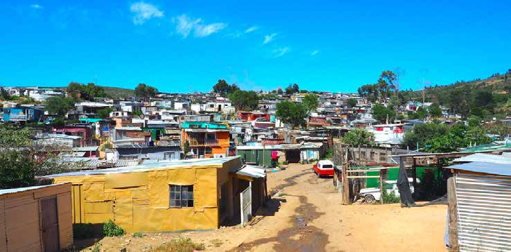 The Department of Human Settlements in partnership with civil society organisations will be resettling residents from dense informal settlements in response to Covid-19.