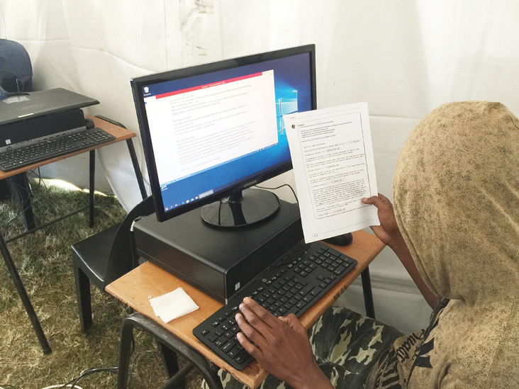 A computer training course is giving homeless people in KwaZulu-Natal a second chance. Photo: Sakhasizwe Community Project