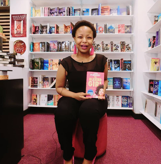 Nosipho Hani-Khumalo hopes to tackle problems in society through her online book club. Photo credit: Plugcityhype