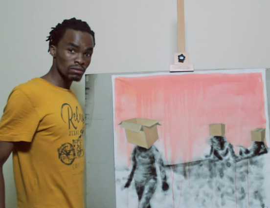 Anathi Nkanyuza is passionate about art and has turned it into a business.