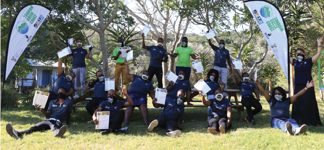 TGC participants at their graduation ceremony in the Eastern Cape. Photo: WESSA.