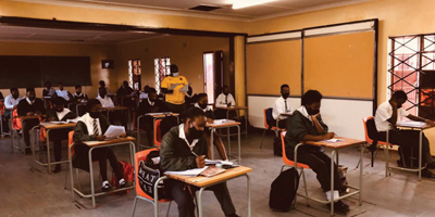 TM Setiloane Secondary School in Thaba Nchu has done its part in empowering young minds, by producing a 100% pass rate in its Grade 12 class of 2020.