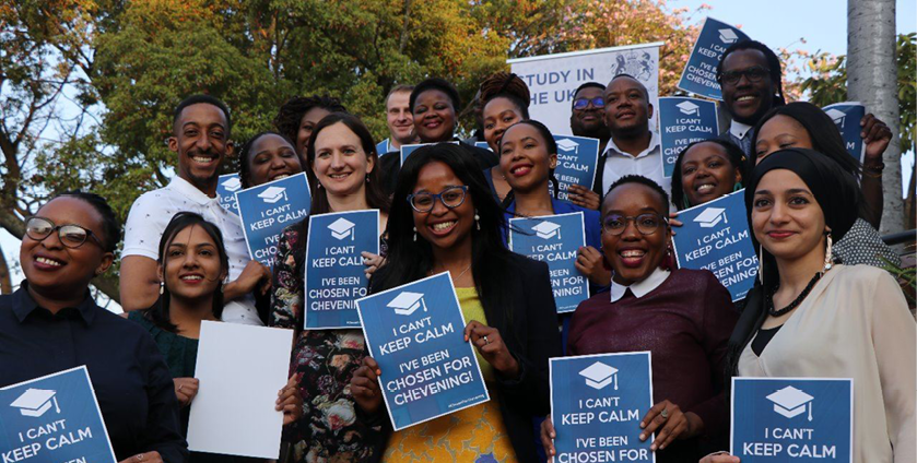 These South Africans were awarded Chevening Scholarships to study in the UK in 2019/2020. Image: Chevening